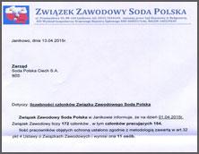 Liczebność Związku Soda Polska